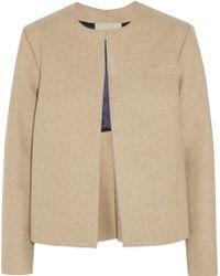 Roksanda Ilincic Delmore Wool-felt Jacket - Lyst