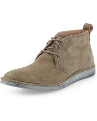 Andrew Marc Parkchester Suede Chukka Boot - Lyst