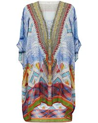 Camilla Crossing Paths Lace Up Kaftan - Lyst