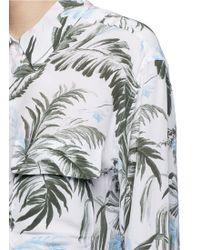 Equipment | 'signature' Tropical Print Silk Shirt | Lyst