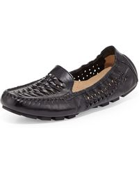 Cole Haan Sadie Huarache Leather Loafer - Lyst