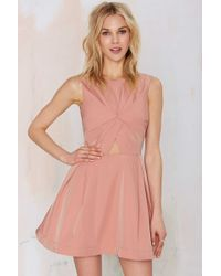 Nasty Gal | Knot In Love Cutout Dress | Lyst