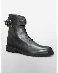 Calvin Klein Jeans Axel Leather Boot - Lyst