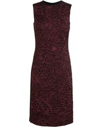 Erdem Fitted Brenton Jacquard Dress - Lyst