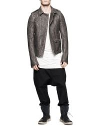 Rick Owens Drawstring Swaggers Dropinseam Pants Black - Lyst