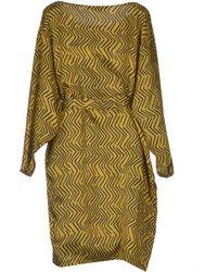 Les Prairies de Paris Short Dress - Lyst