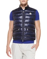 Moncler Gui Quilted Puffer Vest - Lyst