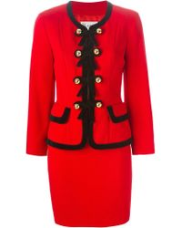 Moschino - Matching Suit - Lyst