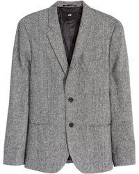H&M | Marled Jacket Skinny Fit | Lyst