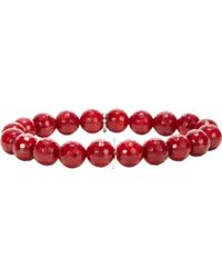 Miracle Icons - Coral Charm Bracelet - Lyst