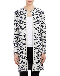 Barneys New York Sweater Coat black - Lyst