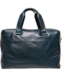 Lanvin - Paper Effect Leather Bag - Lyst