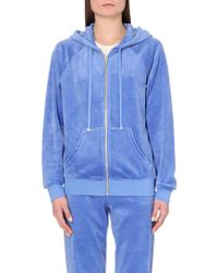 Juicy Couture Regent Relaxed Velour Hoody - Lyst