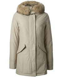 Woolrich Arctic Fur Hood Parka - Lyst