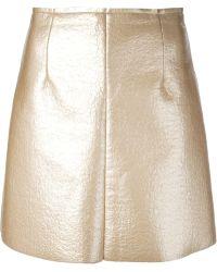 MSGM A-Line Skirt - Lyst