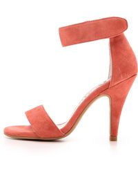 Jeffrey Campbell Hough Sandals - Coral - Lyst