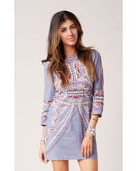 Antik Batik Brian Mini Dress - Lyst