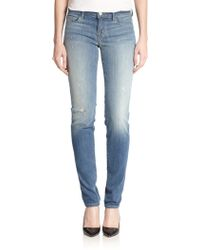 J Brand Jude Distressed Slouchy Skinny Jeans - Lyst