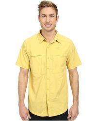 The North Face Short Sleeve Cool Horizon Shirt yellow - Lyst