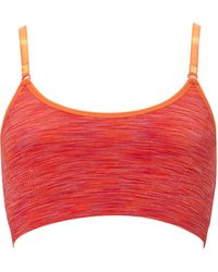 Forever 21 Low Impact - Space Dye Sports Bra - Lyst