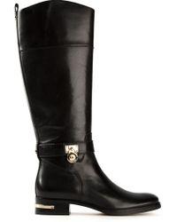MICHAEL Michael Kors Aileen Riding Boots - Lyst