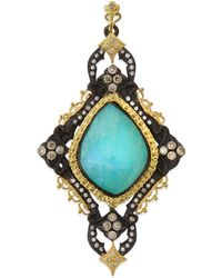 Armenta | Blue Turquoise Cravelli Scroll Enhancer | Lyst