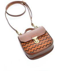 Jam Love London - Charlotte Saddle Bag In Ponyskin Camel - Sold Out - Lyst