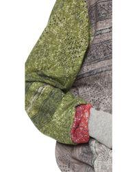 Preen Line - Shearling Sweatshirt - Mix Block Print - Lyst