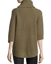 Kors by Michael Kors - Cashmere-Wool Turtleneck Tunic - Lyst