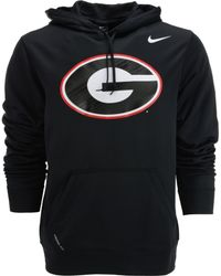Nike Mens Georgia Bulldogs Warp Performance Hoodie - Lyst