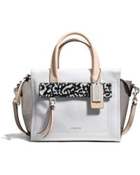 Coach Bleecker Mini Riley Carryall in Mixed Media - Lyst