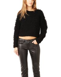 Helmut Lang Obscure Terry Pullover - Lyst