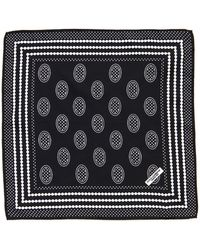 Dolce & Gabbana Silk Pocket Square - Lyst