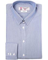 Turnbull & Asser Slim-fit Cotton Shirt - Lyst