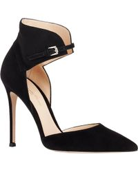 Gianvito Rossi Buckle-Cuff Pumps - Lyst