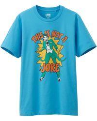 Uniqlo Men American Movie Graphic Short Sleeve T-Shirt - Lyst