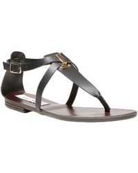Steve Madden Kween Leather Sandals - Lyst
