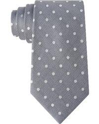 Calvin Klein Mirror Dot Slim Tie - Lyst
