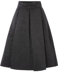 Eliza J - High Waisted Pleated Skirt - Lyst