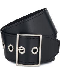 Sandro Alda Calfskin Leather Belt - Lyst