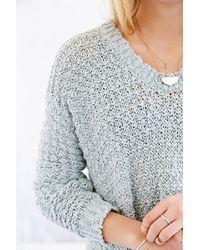 Kimchi Blue - Cozy V-neck Sweater - Lyst