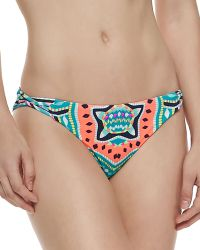 Mara Hoffman Printed/Solid Reversible Swim Bottom - Lyst