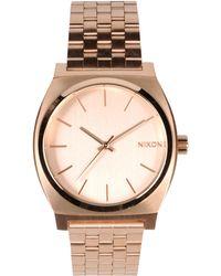 Nixon Wrist Watch pink - Lyst