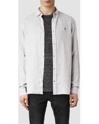 AllSaints Reaper Shirt - Lyst