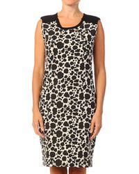 Numph Black Bodycon Dress - Lyst