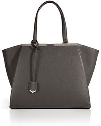 Fendi Leather 3jours Tote - Lyst