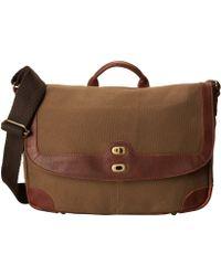Will Leather Goods Brown Dennis Messenger - Lyst