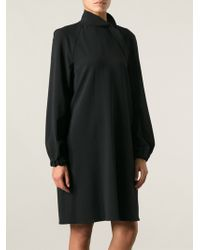 Lanvin Loose Fit Dress - Lyst