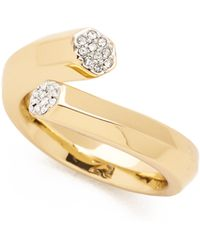 Rachel Zoe - Pave Bypass Ring - Lyst