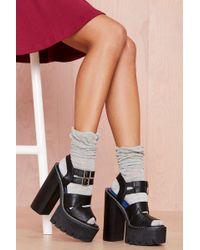 Nasty Gal Mila Socks  Gray - Lyst